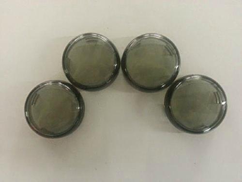 Smoke Turn Signal Lens Set 4 Harley Dyna Super Glide FXD repl OEM 68973-00