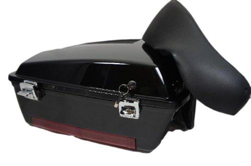 Mutazu 283900021 Vivid Black Harley Chopped Tour Pak