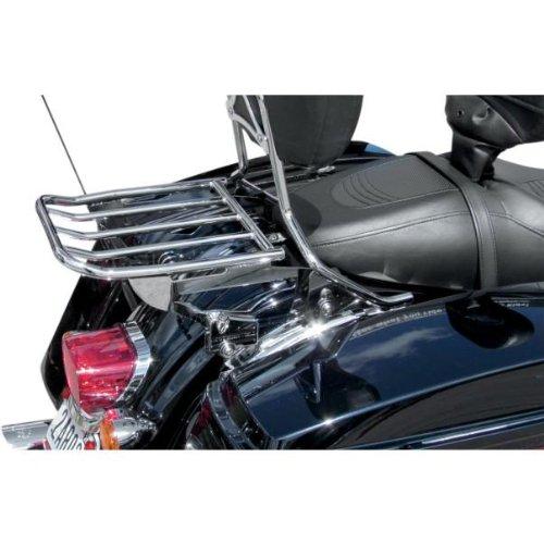 Motherwell 2-Up Detachable Luggage Rack - Locking - Chrome MWL-428