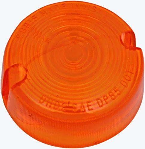 Amber Turn Signal Lens Harley Dyna Wide Glide - FXDWG 93-2001 repl OEM 68457-86