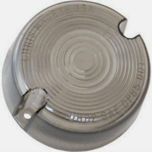 Smoke Turn Signal Lens Harley Dyna Wide Glide - FXDWG 93-2001 repl OEM 68457-86