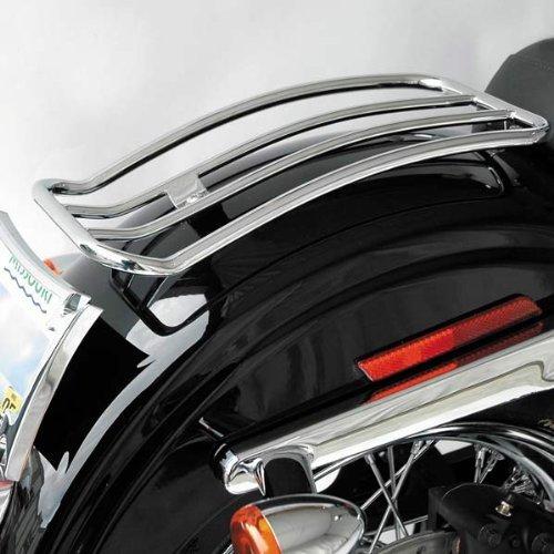 Motherwell Chrome Solo Luggage Racks for 1991-2005 Harley Davidson Dynas