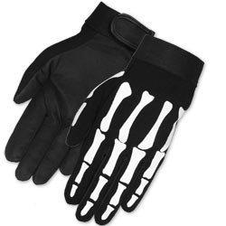 Skeleton Hand Motorcycle Gloves Mechanics Work XL