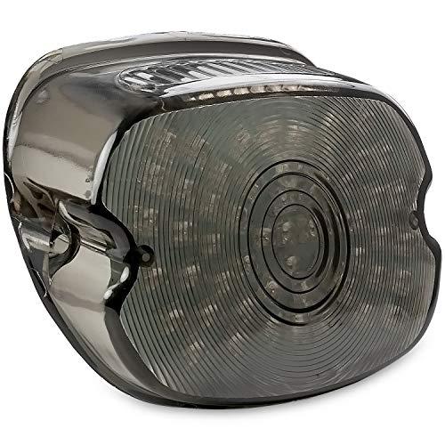 Krator Smoke Integrated LED Taillight wTurn Signals for 2001-2003 2006 Harley Davidson Heritage Springer EFI - FLSTSI