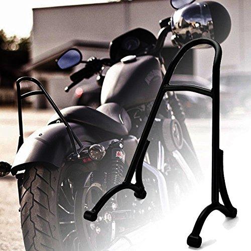 Kawayee Black Short Sissy Bar Backrest for Harley-Davidson Breakout 2013-2017