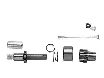 KCInt 9 Tooth Starter Jackshaft Kit for Harley Davidson