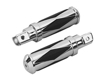 KCInt Diamond Stylin 58 Mount Footpegs for Harley Davidson