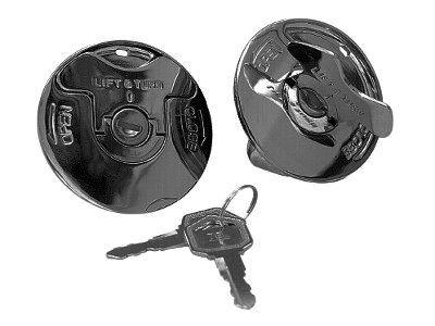 KCInt Flush Mount Lockable Quick Cam Gas Caps for Harley Davidson