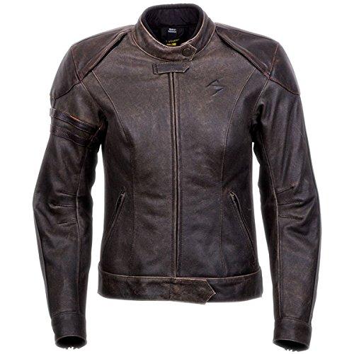 ScorpionExo Catalina Womens Leather Motorcycle Jacket Brown Medium