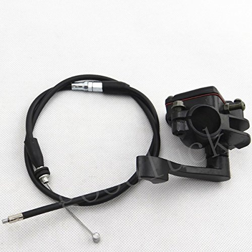 Quad Pit Bike ATV Thumb Throttle Holder  Throttle Cable Assembly