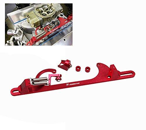 Ryanstar 4150 4160 Aluminum Series Black Red Billet Throttle Cable Bracket Red