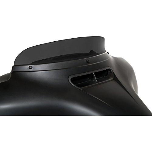 Memphis Shades 3 Dark Smoke Spoiler Windshield OEM Harley Batwing Fairing 14-17
