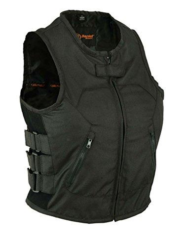 DS212BK Womens Updated Textile SWAT Team Style Vest 2XL BLACK