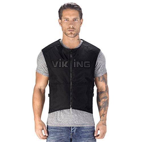 Viking Cycle Warhawk Armored Textile Vest 2XL