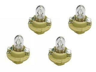 Mercedes Bulb dash instruments 15w Beige Socket  x4