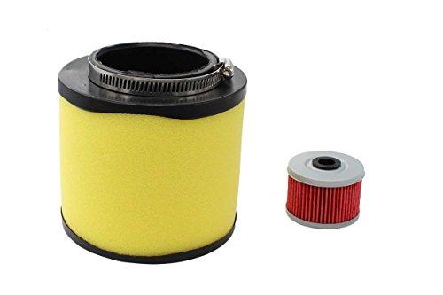 Air Filter Oil Filter Tune-Up For Honda Foreman 400 450 TRX400 TRX450 FourTrax Foreman 400 TRX400 Rancher 350 TRX350 ATV 17254-HN5-670