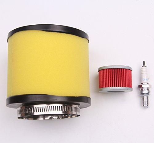New Air Filter Oil Filter Spark Plug For Honda Rancher 350 Foreman 400 450 FS-900 FS-705 DPR7EA-9