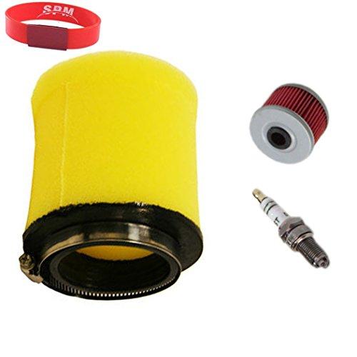 SPM Air Filter Oil Filter Spark Plug for Honda Foreman 450 TRX450FE TRX450FM TRX450ES TRX450S 4x4