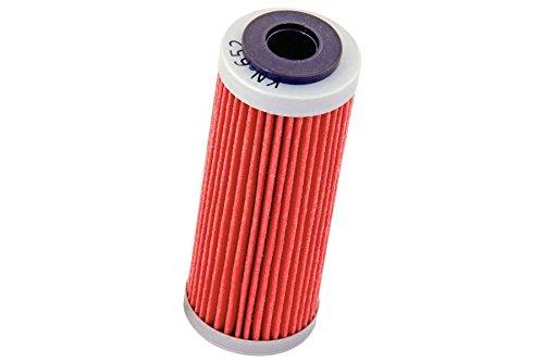 K N Oil Filter KN-652 530 EXC 10-11 530 EXC SIX DAYS 09-11 530 XC-W 10 530 XC-W SIX DAYS 10-11 450 EXC 09-11  450 EXC SIX DAYS 10-11 450 SMR 08-12 450 SXF 07-12 KN-652