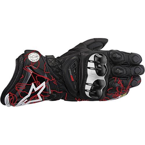 Alpinestars GP Pro Gloves 2013 Model BlackRed Tracks M Medium
