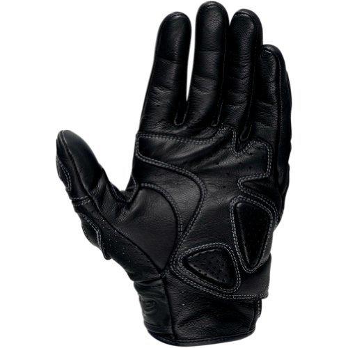 Alpinestars SPS Mens Leather Sports Bike Racing Motorcycle Gloves - Black  Medium