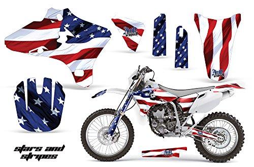 Yamaha WR250F WR450F 2005-2006 MX Dirt Bike Graphic Kit Sticker Decals WR 250 450 F STARS STRIPES