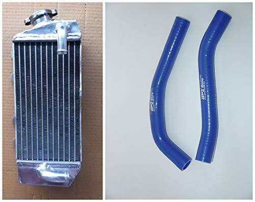 Aluminum Radiator and Silicone Hose for Yamaha YZ85 YZ 85 2002-2015 2013 blue