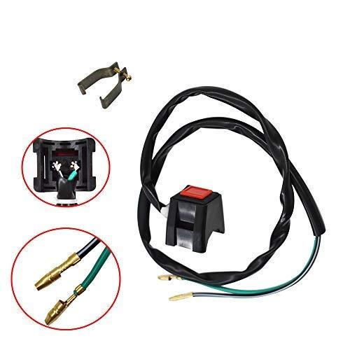 labwork Kill Switch Fit for Yamaha YZ85 YZ125 TTR125 YZ250 WR250 TY350 YZ426 IT490 YZ490