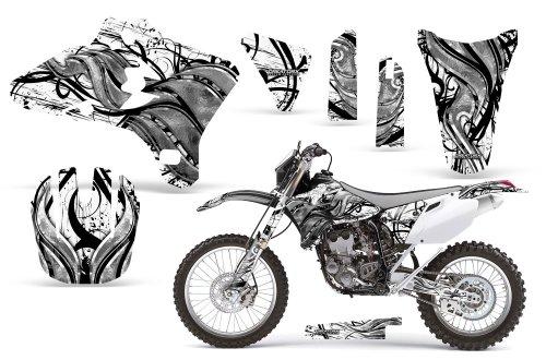CreatorX Yamaha Yz250F Yz450F Wr250 Wr450 Graphics Kit Decals Fire Blade White