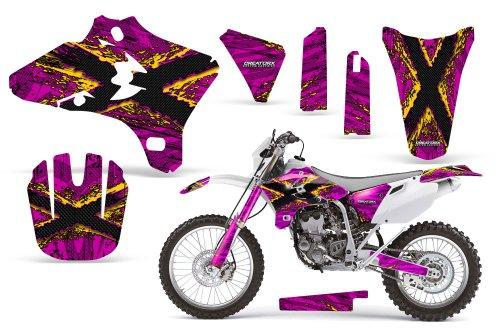 CreatorX Yamaha Yz250F Yz450F Wr250 Wr450 Graphics Kit TribalX Yellow Pink