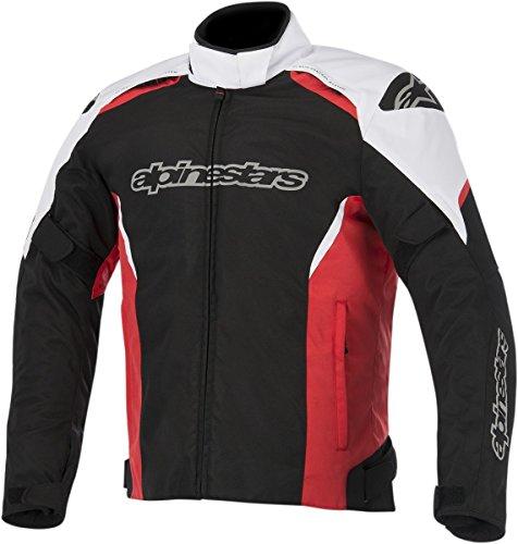 ALPINESTARS Jacket Gunner Black  White  Red 2XL XXL Size 2X-Large