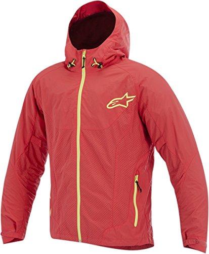 ALPINESTARS Jacket Tornado Red  Yellow 2XL XXL Size 2X-Large