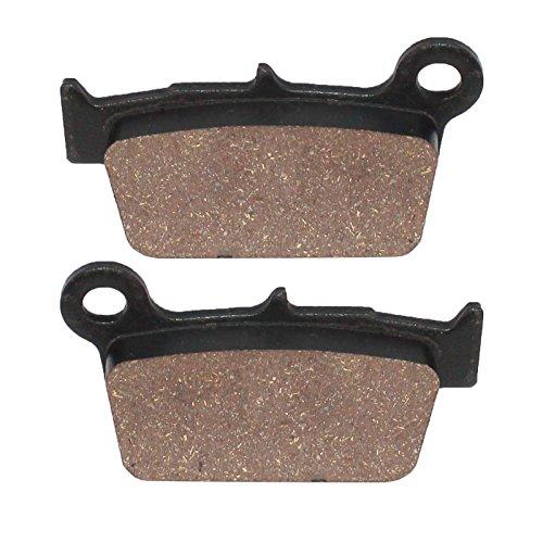 Caltric REAR BRAKE Pads Fits SUZUKI RMZ450 RMZ 450 RM-Z450 2005-2016