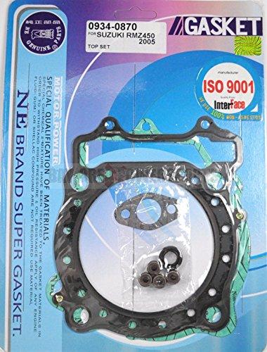 Top End Head Gasket Kit Suzuki Rmz450 RMZ 450 RM Z 450 2005 2006 2007