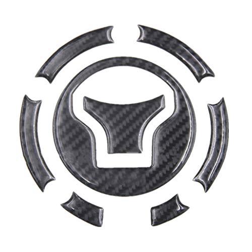 Motorcycle 5D Real Carbon Fiber Fuel Gas Tank Protector Pad Sticker For Honda CB650F CBR650F VFR800 VFR800X CBR1000RR MN4 Crosstourer1200