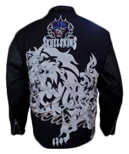 SkullSkins Unleashed Reflective Motorcycle Jacket Vest Unleashed XXX-Large