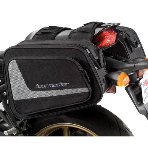 TourMaster 8203-1305-00 Black Select Saddlebag