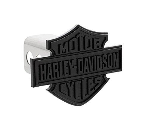 Harley-Davidson Black Bar Shield Trailer Hitch Cover Plug