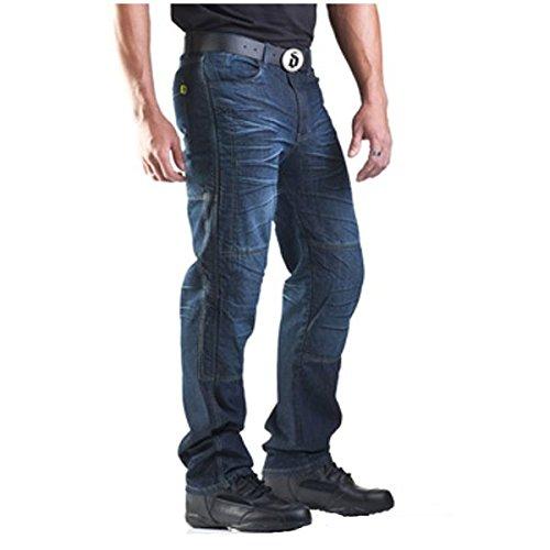 Drayko Drift Riding Jeans Mens Denim Street Bike Motorcycle Pants - Indigo  Size 34