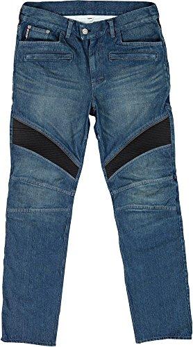 Joe Rocket Accelerator Jean Mens Blue Denim Motorcycle Pants - 30