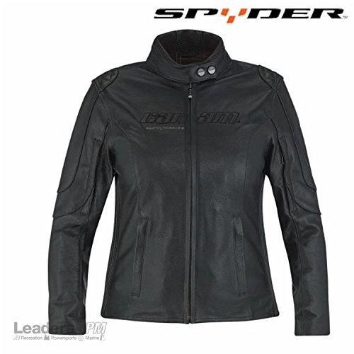 Can-Am Spyder New Ladies Veronica Riding Leather Jacket Black XL 4406811290