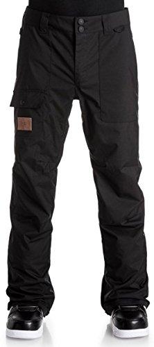DC Dealer Mens Ski Snowmobile Pants - Black  X-Large
