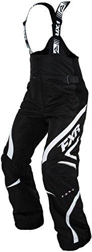 FXR Team Womens Snowmobile Pants BlackWhite 8