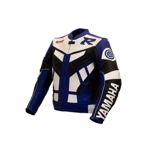 Yamaha Blue Racing Leather Jacket M EU50