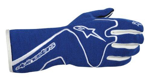 Alpinestars 3551113-72-L BlueWhite Large Tech 1 Race Gloves