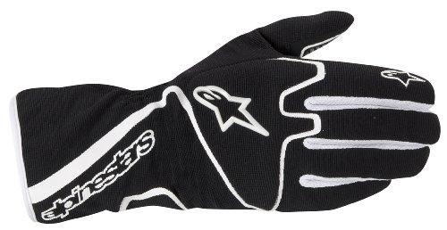 Alpinestars 3552012-12-S BlackWhite Small Tech 1-K Race Karting Gloves