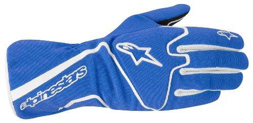 Alpinestars 3552012-72-2XL BlueWhite XX-Large Tech 1-K Race Karting Gloves