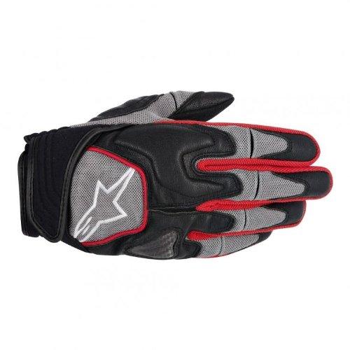 Alpinestars Scheme Kevlar Mens Textile Road Race Motorcycle Gloves - BlackGrayRed  3X-Large