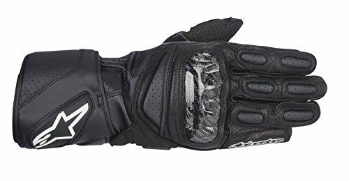Alpinestars SP-2 Mens Leather Road Race Motorcycle Gloves - Black  Large