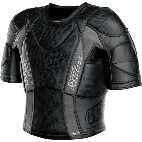 Troy Lee Designs BP 5850-HW Shirt Adult Undergarment Off-RoadDirt Bike Motorcycle Body Armor - Black  Medium